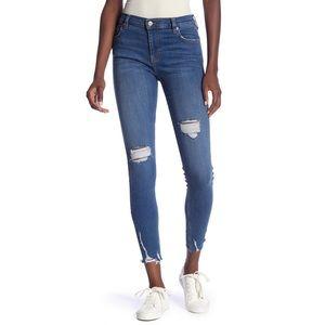 Free People Sharkbite Ankle Skinny Jeans 🦈